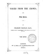Voices from the Crowd: And Other Poems