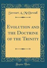 Evolution and the Doctrine of the Trinity