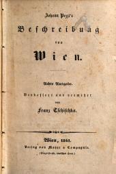 Johann Pezzl's Beschreibung von Wien
