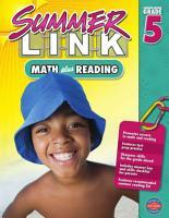Math plus Reading  Grades 4   5 PDF