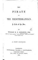 The Pirate of the Mediterranean  A tale of the sea  etc PDF