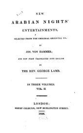 New Arabian Nights' Entertainments: Volume 2