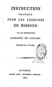 Instruction pratique pour les exercices de Mission