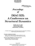 Proceedings of IMAC XIX PDF
