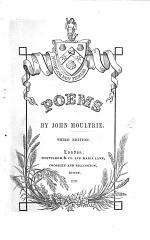 Poems ... Second edition