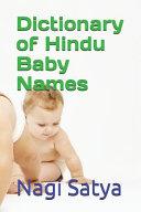 Dictionary of Hindu Baby Names PDF