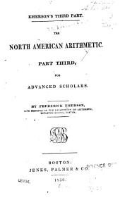 The North American arithmetic ...: for advanced scholars