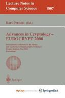Advances in Cryptology - EUROCRYPT 2000