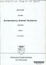 Environmental Support Technician (AFSC 56671)