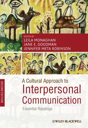 A Cultural Approach to Interpersonal Communication PDF