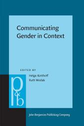 Communicating Gender in Context