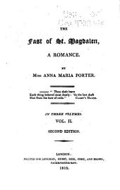 The Fast of St. Magdalen: A Romance, Volume 2
