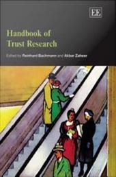 Handbook of Trust Research
