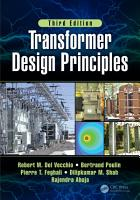 Transformer Design Principles With Applications 3e PDF