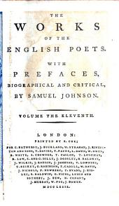 The Works of the English Poets: With Prefaces, Biographical and Critical, Volume 11