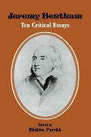 Jeremy Bentham, Ten Critical Essays