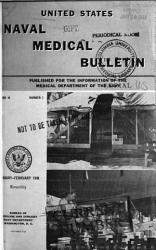 United States Naval Medical Bulletin PDF
