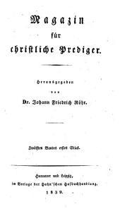 Magazin für christliche Prediger: Band 12