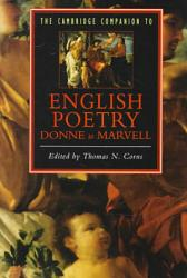 The Cambridge Companion to English Poetry  Donne to Marvell PDF