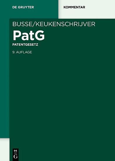 Patentgesetz PDF