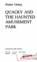 Quacky and the Haunted Amusement Park PDF