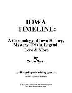 Iowa Timeline Book