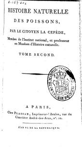 Histoire naturelle des poissons: Volume2