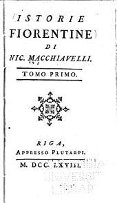 Istorie fiorentine: Volume 1