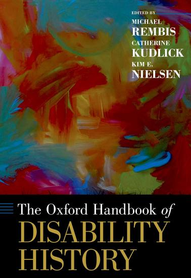The Oxford Handbook of Disability History PDF