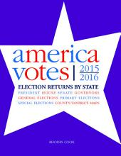 America Votes 32: 2015-2016, Election Returns by State, Edition 32