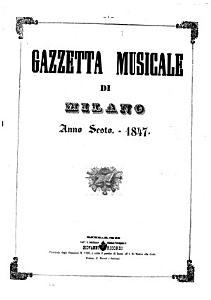 Gazzetta musicale di Milano PDF
