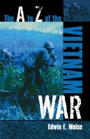 The A to Z of the Vietnam War PDF