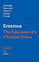 Erasmus  The Education of a Christian Prince with the Panegyric for Archduke Philip of Austria PDF