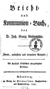 Beicht- und Kommunion-Buch