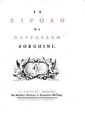 Il riposo di Raffaello Borghini..