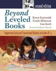 Beyond Leveled Books Book PDF
