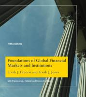 Foundations of Global Financial Markets and Institutions  fifth edition PDF