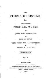 The poems of Ossian: &c, Volume 2
