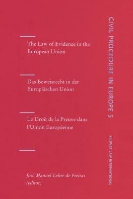 Beweisrecht in Der Europ  ischen Union PDF