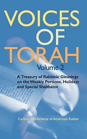 Voices of Torah  Volume 2 PDF