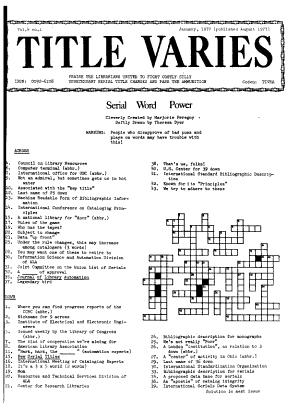 Title Varies PDF