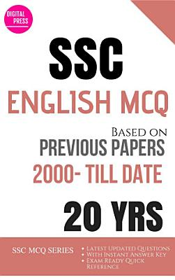 ENGLISH SSC MULTIPLE CHOICE QUESTIONS YEARWISE