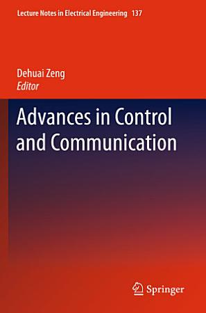 Advances in Control and Communication PDF