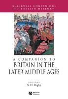 A Companion to Britain in the Later Middle Ages PDF