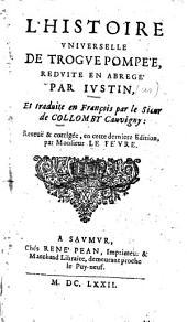 L'histoire universelle de Trogue Pompée