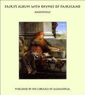 Fairy's Album With Rhymes of Fairyland