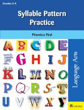 Syllable Pattern Practice: Phonics First
