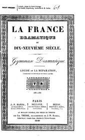 Louise ou la réparation: comédie-vaudeville en deux actes