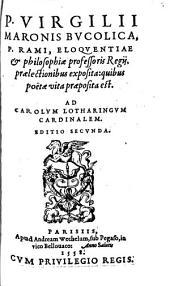 P. Virgilii Maronis Bucolica