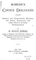 McBride s Choice Dialogues PDF